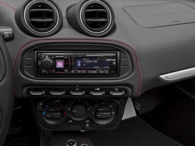 2018 Alfa Romeo 4c Spider Spider W Track Package 3 Carbon